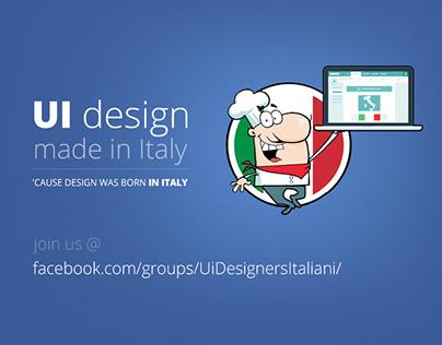 UI design made in Italy