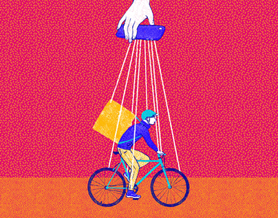 Editorial illustration for Inclusiv.ro