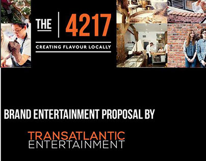 The 4127 - Branded entertainment proposal