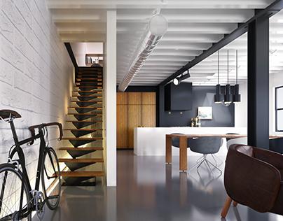 Le 205 - architectural visualization