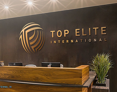 Top Elite holding Logo design