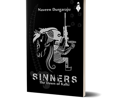 Sinner - The Dawn of Kalki, Novel Cover Design