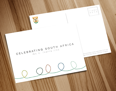 Heritage Day Postcard - Celebrating South Africa