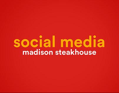 Social Media - Madison Steakhouse