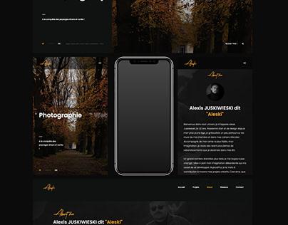 WEB DESIGN / Aleski