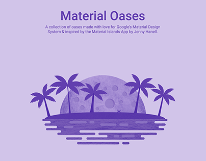 Material Oases