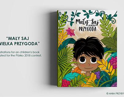 Mały Saj i wielka przygoda - Illustrations for book
