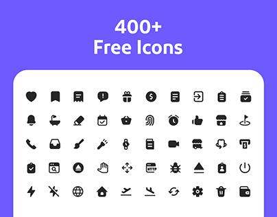 400+ Free Icons