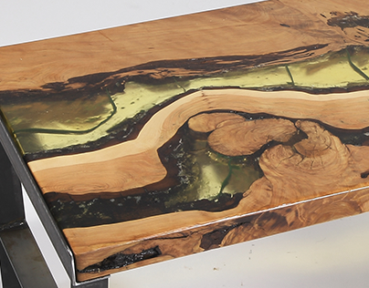 Earthy Coffee Table