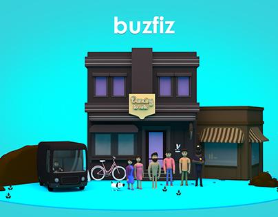 BUZFIZ- 3D Animated Ad