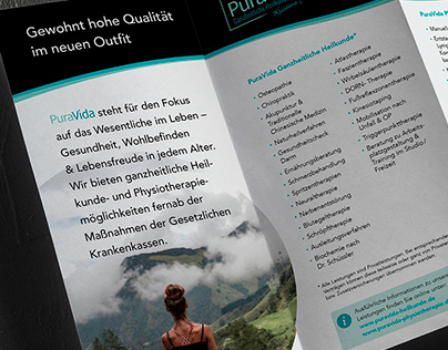Folder Design PuraVida