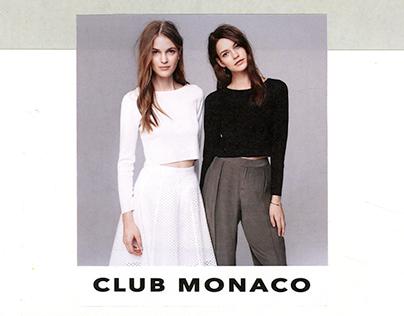 Fashion Art 2: Club Monaco Project