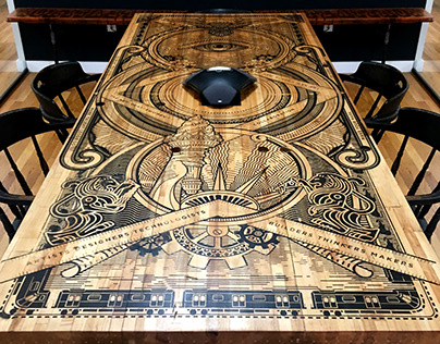 VAULT 49 conference table