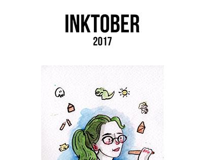 INKTOBER 2017. Booklet