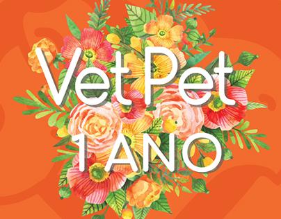 Campanha 1 ano VetPet