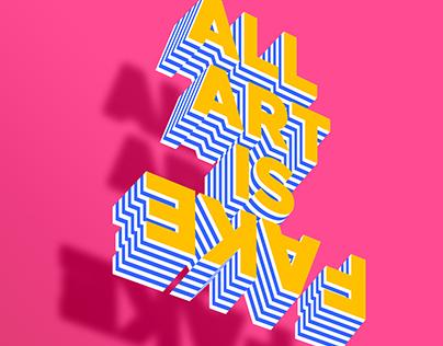 Art is Fake