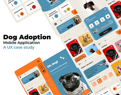 Dog Adoption - UX Case Study