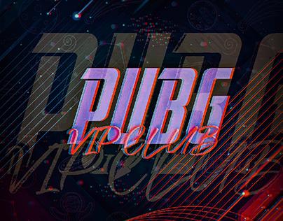 PUBG VIP CLUB Design