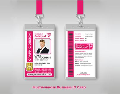 Business ID card