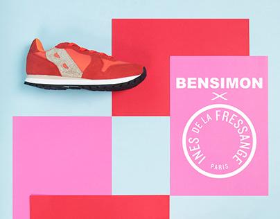 Inès de la Fressange x Bensimon Set Design & Campaign