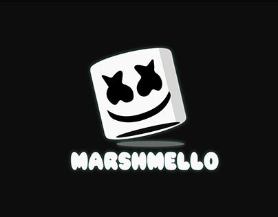 Marshmello Vector Art