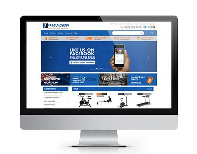 Flex Fitness Website