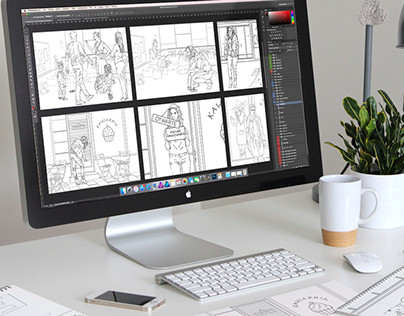 Storyboard for Pert Public Relations