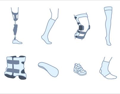 Orthopedics Illustrations