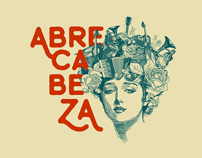 AbreCabeza logo y flyers