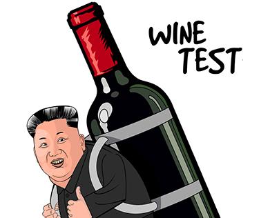 Wine Test - kim jong un