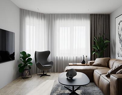 Venskyi apartments interior design