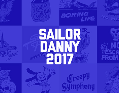 Sailor Danny Illustration 2017