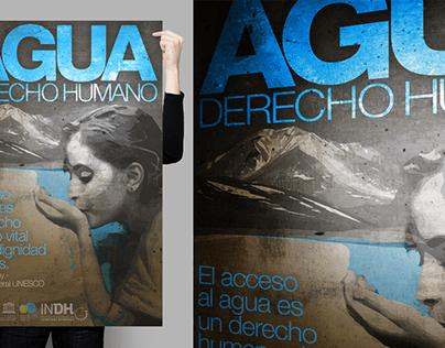 AGUA - Derecho Humano