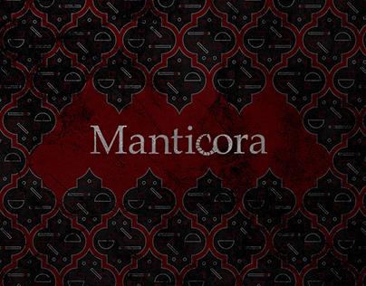 Elite stationery «Manticora»
