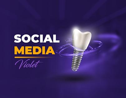 Social media - violet