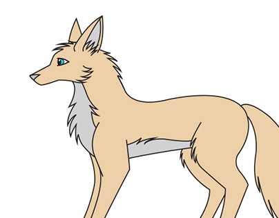 How to Draw Cartoon Wolf