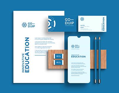 GO-DIJIP - Brand Identity Design