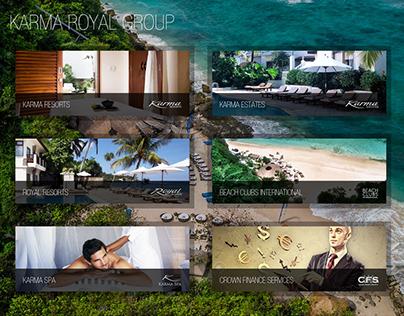 Karma Royal Groups Mock Up Design