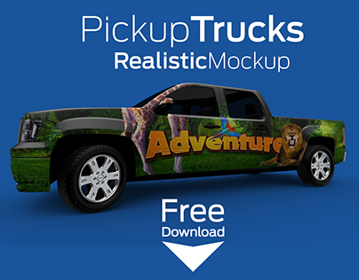 PickUp Truck - MockUp