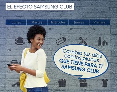 El efecto Samsung Club
