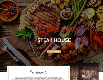 Restaurant Wordpress Webside