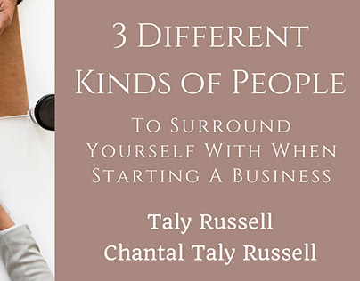 3 Different Kinds of People - Taly Russell