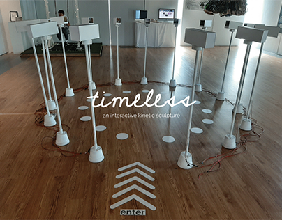 Timeless | Interactive Kinetic Sculpture