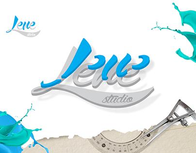 Estudo de Marca, Logo Lene Studio