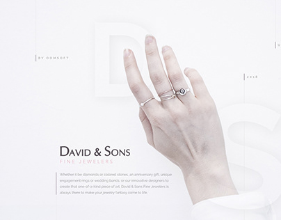 David&Sons Fine Jewelers — Web Design