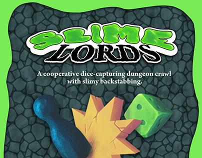 Slime Lords Board Game
