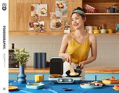 创造新早餐 | 东菱电器 ✖ foodography