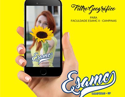 Filtro Geográfico - Esamc - Campinas