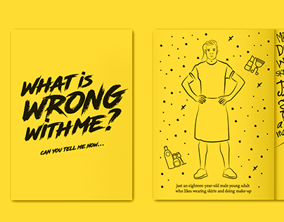 Illustration Zine | What is wrong with me?