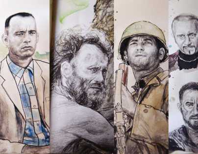TomHanksology - all Tom Hanks movies on a Moleskine